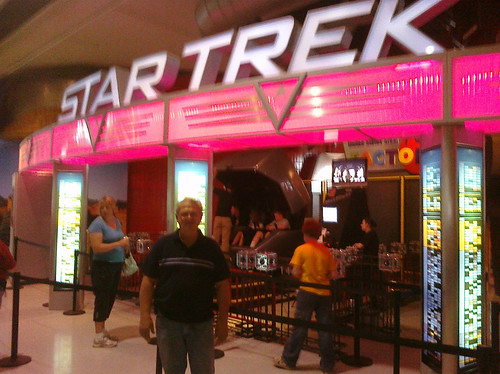 My Dad, Star Trek Experience