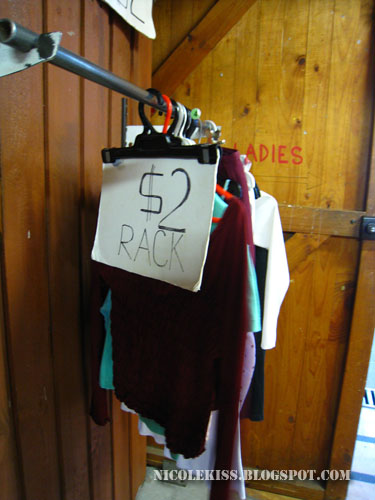2 dollars rack