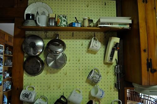 Pots, Pans, and Mugs at Ringe Lake House