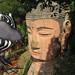 Spidey saying hello to the Giant Buddha :). Leshan, China 30AUG09