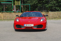 Ferrari F430 Coupe (piolew) Tags: auto red car photography italian nikon italia republic czech automotive ferrari racing days brno 2009 coupe supercar spotting digest 2010 f430 combo spotter d80 okruh automotodrom masarykuv piolew
