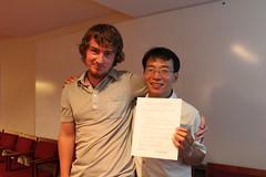 TEIA與Earthday Network合作備忘錄簽署紀念合影