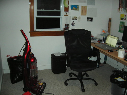 Home office reorganization in progress
