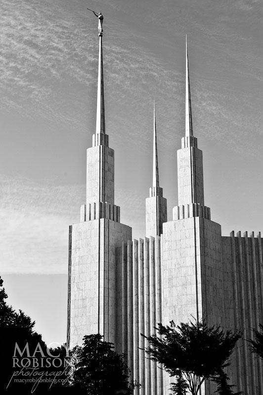 Washington DC LDS Temple Exterior 8