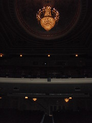 Theatre Chandalier (Carrie and Charles) Tags: wedding genesee venues genessetheatre
