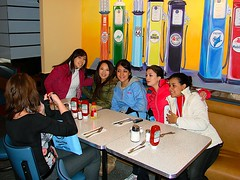 Au Pair USA: Lunch in the Tick Tock Diner (InterExchange USA) Tags: trip travel vacation baby holiday children lunch kid tour child sightseeing nanny visit tourist babysitter caretaker childcare hostfamily aupair ticktockdiner culturalexchange interexchange aupairusa hostchildren