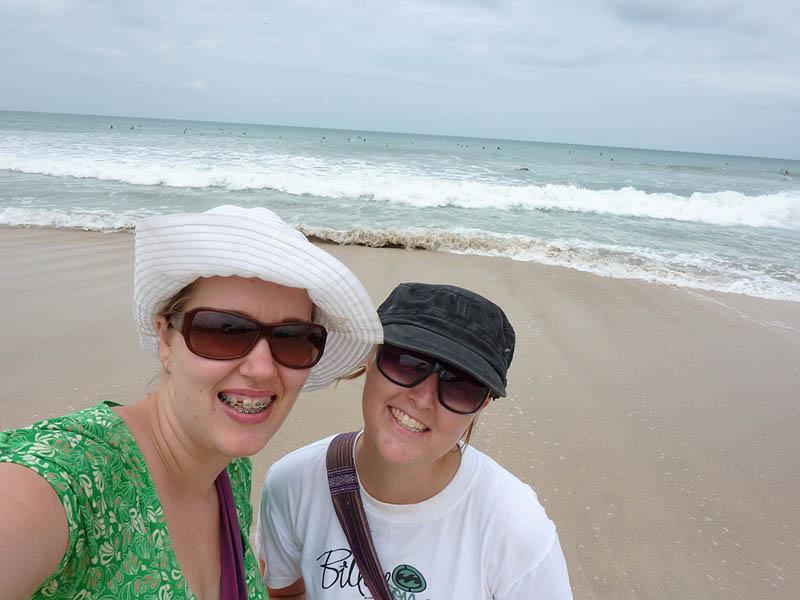 Sam and I on Kuta Beach