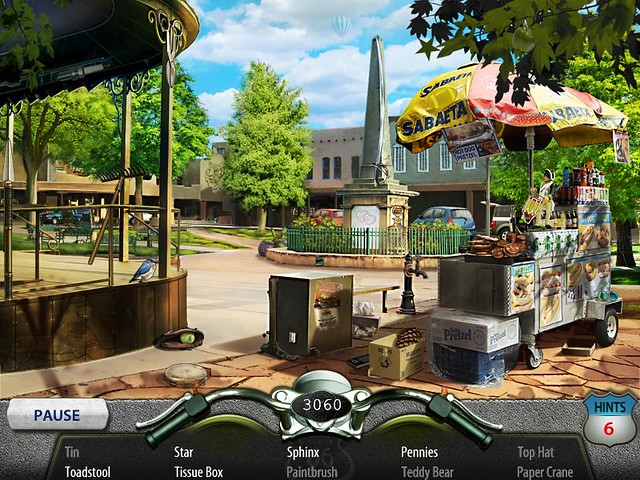 Route 66 game screenshot by leannyamp