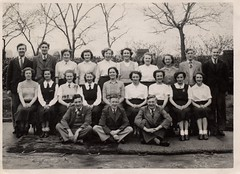 Form photo 1950 (wonky knee) Tags: manchester 1950 classphoto middleton qegs lowersixth queenelizabethgrammar formphoto 195051