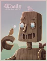 woody - the low tech robot (:raeioul) Tags: robot tech low woody www el niuton raeioul raeioucom