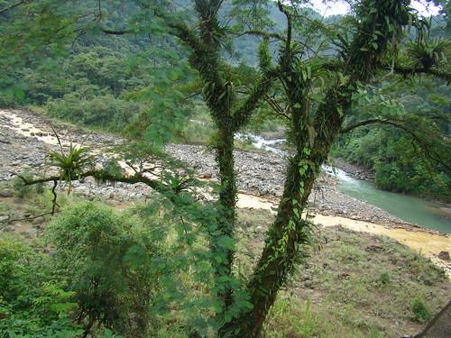 Río Sucio en el Parque Nacional Braulio Carrillo