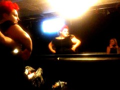 Beth Ditto and The Gossip (Michelle M McCormack) Tags: backstage groupies groupie thegossip theparadiserockclub bethditto imwiththeband hangingwiththeband