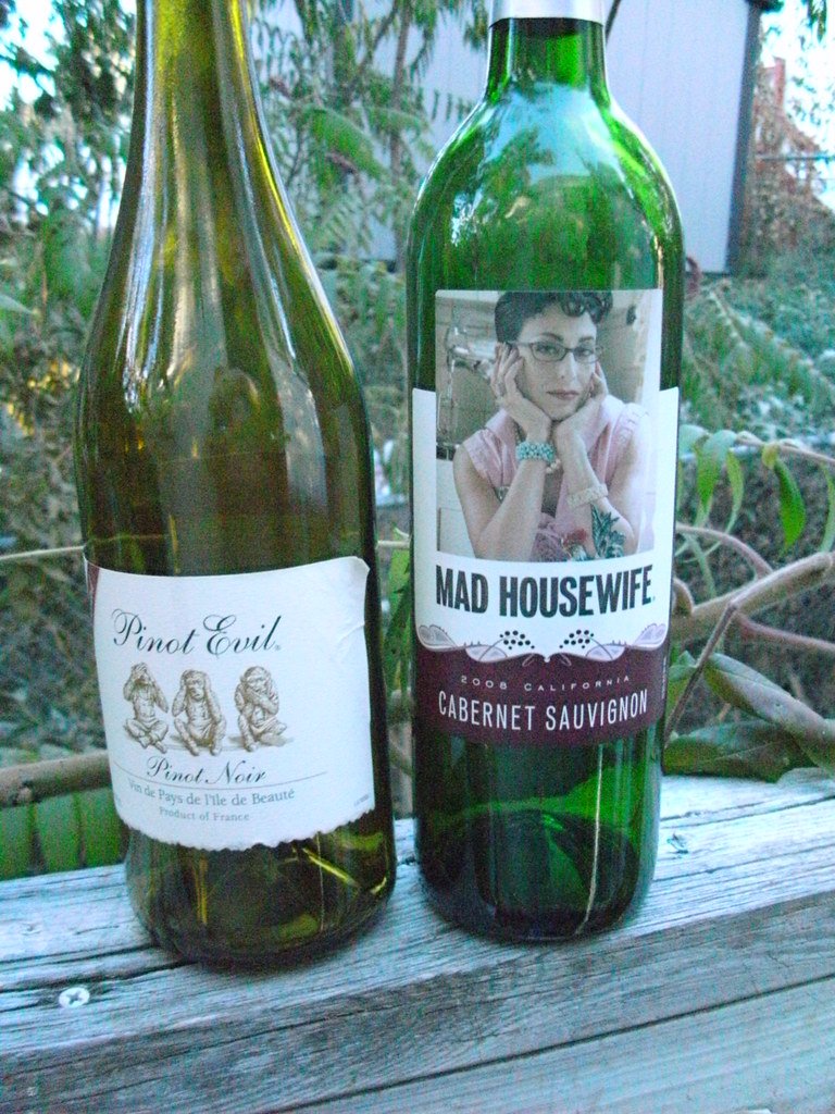 Cheap wine, Good labels, and a Story