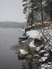 Winter at Lake Våtvatn