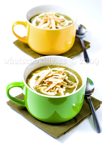 Potato and Poblano Soup