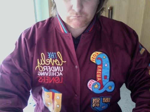 ecab3e29680 another box arrived the nike parra Lovely Under Achieving Loners collab  stadium jacket losing since 1976