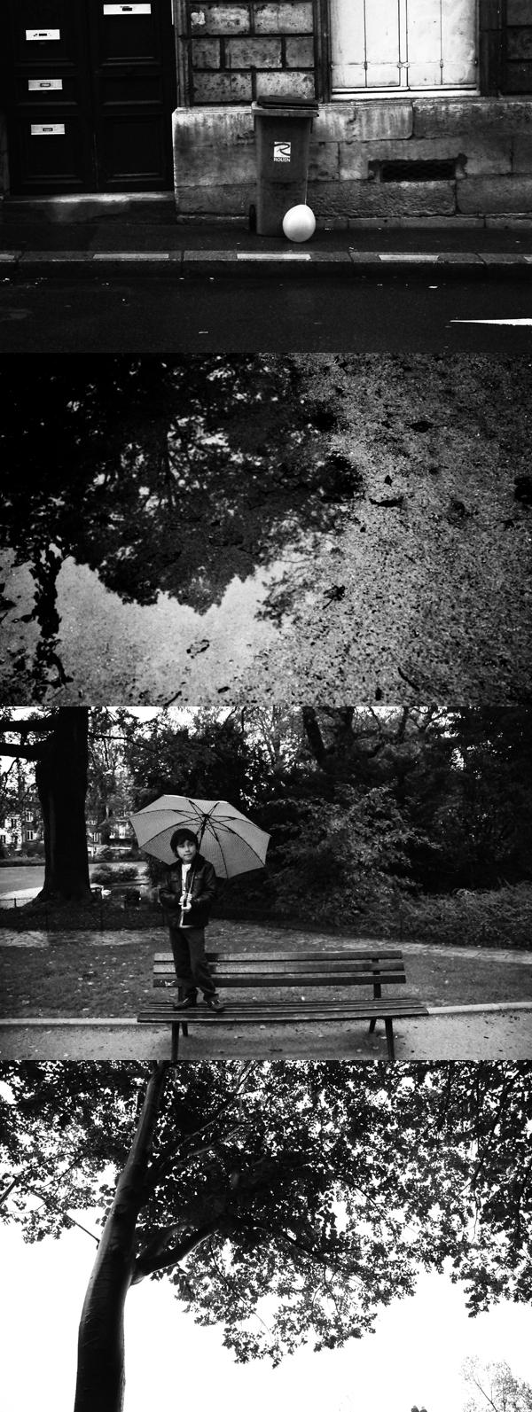 un samedi sous la pluie