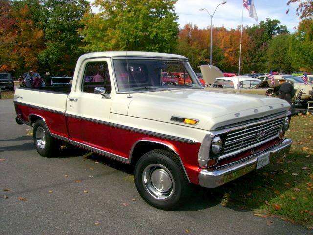 ford 1969 truck ranger pickup f100 carshow downspark pasadenamd baycountryregionvcca