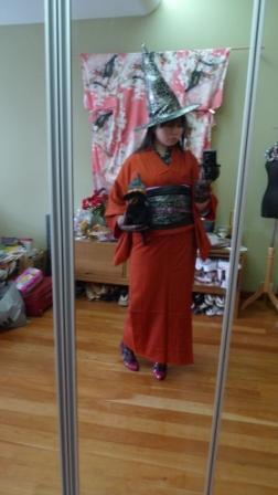 Halloween Kimono Outfit