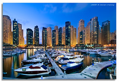 Exclusive Parking (DanielKHC) Tags: blue beach club digital marina high nikon dubai dynamic yacht uae hour residence range dri increase hdr jumeirah blending d300 jbr danielcheong danielkhc tokina1116mmf28 gettyimagesmeandafrica1