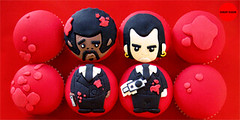 PULP FICTION CUPCAKES 3 (jemma@sugarsugar) Tags: fiction classic cakes face vintage john poster fan cupcakes video gangster different geek unique awesome decoration retro celebration novelty cupcake figurines trendy pulpfiction reservoirdogs characters pulp treat popular gangsta godfather quirky mafia quentin killbill samuelljackson scarface littlecakes robbers travolta johntravolta tarantino fondant classicmovie geekcake cultmovie awesomecupcakes scareface birthdaycupcakes godfarther noveltycake cutecupcakes guyrichie fondantcupcake pulpfictionposter noveltycupcakes cupcakegift retrocupcakes geekcupcakes scarfacecake pulpfictioncupcakes pulpfictioncharacters arcadegamecupcakes pulpfictioncake birthadycupcakes
