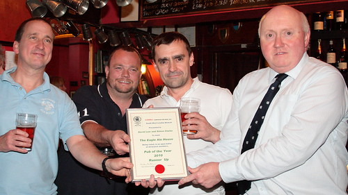 CAMRAswl Pub of the Year 2010 Runner Up presentation.