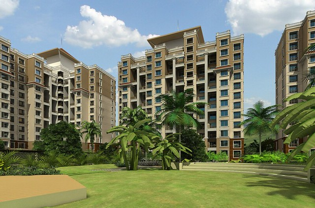 Om Developers' Tropica Blessed Township of 2 BHK & 3 BHK Flats in Ravet PCMC Pune 412 101