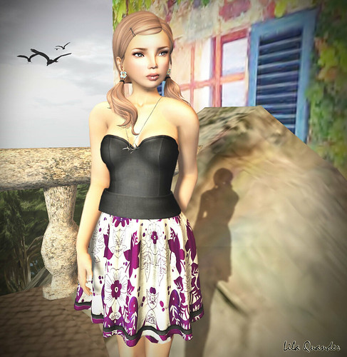 CS - The Secret Store - Pospicle Dress - Bloom
