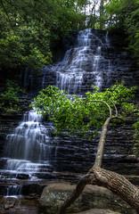Benton Falls (Soundman1488) Tags: chris kaskel photography nikon d5000 benton falls tennessee tn waterfall water fall hdr cascades 3xp cascade silky photomatix pro photo matix soft