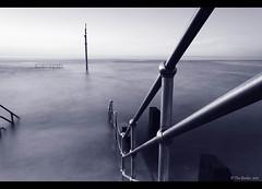 Railings - Ilfracombe #3 03062011bw (Tim Barker - in North Devon) Tags: southwest twilight nikon devon filter lee nd ilfracombe westcountry northdevon leend ndfilter ndgrad ilfracombeharbour timbarker d7k d7000