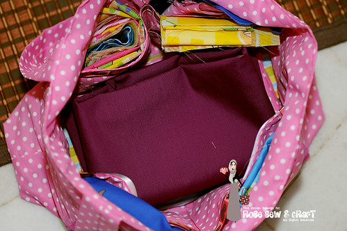 Fabric Diaper Bag