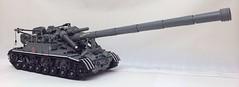 Soviet 2A3 'Kondensator' 2P (D-Town Cracka) Tags: cold self war tank lego military soviet artillery russian coldwar propelled howitzer kondensator 2a3 objekt271