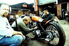 Norton Dragster (Norton Nick) Tags: vincent norton triumph motorcycle lightning bonneville caferacer rockers triton rockandroll commando blackshadow classicmotorcycle bsa norvin acecafe speedtwin modsandrockers