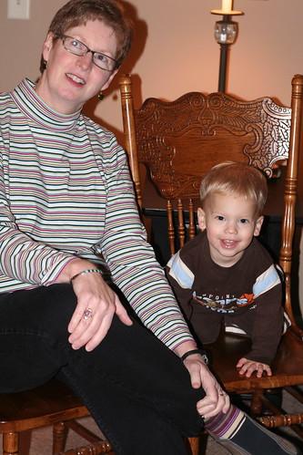 Grandma Jayne and Eli