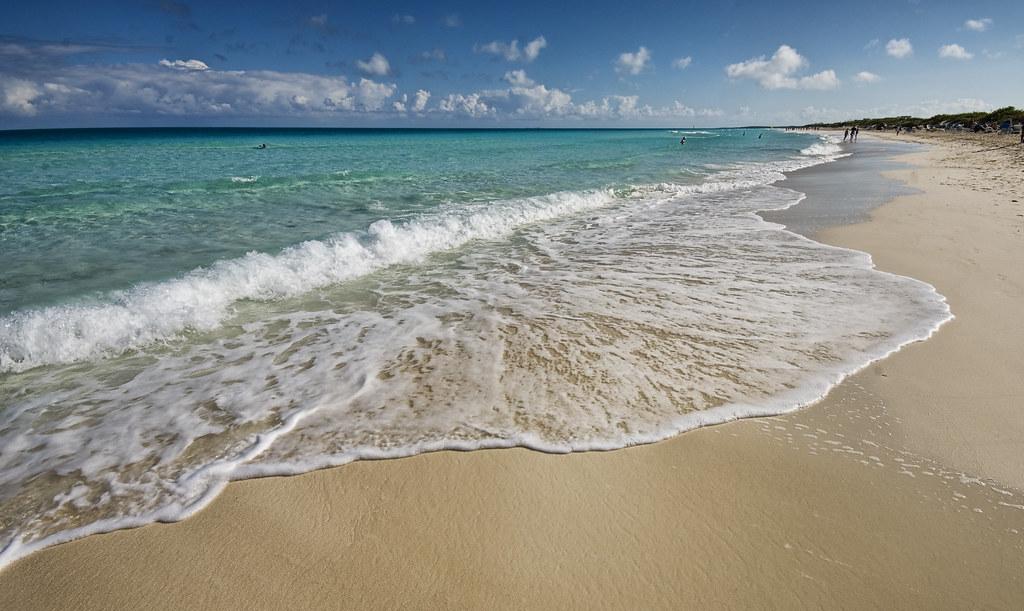 La plage, Santa Maria, Cuba