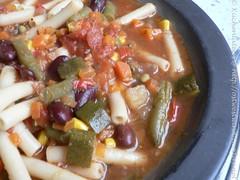 Gemüsesuppe aus dem Crockpot