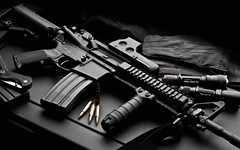 AR-15 Carbine Product Shot Redone (Srdrkr) Tags: magazine stag knife sling fenix warrior flashlight ar15 512 carbine m20 eotech vltor magpul 2ht tangodown stag15