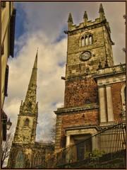 Shrewsbury (Steel Steve) Tags: england shropshire churches shrewsbury chapeau goldenglobe mywinners abigfave steelsteve magicdonkeysbest novavitanewlife sensationalphoto artistictreasurechest themonalisasmile imagesforthelittleprince