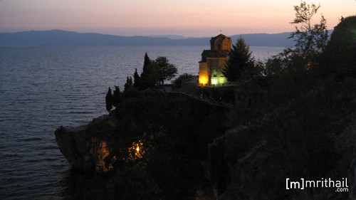 Ohrid - Church of St. John at Kaneo