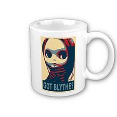 My obamicon got mugged! (voo_doolady) Tags: cup coffee doll mug blythe custom takara obama barack obamicon gotblythe