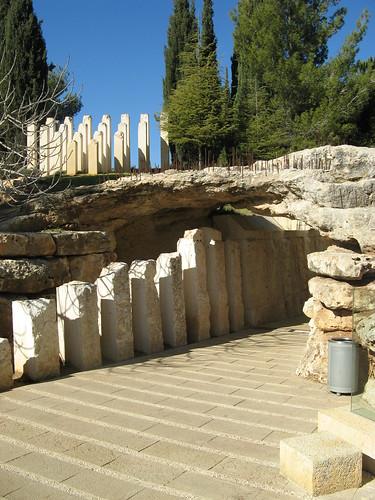 Memorial, Yad Vashem, Jerusalem