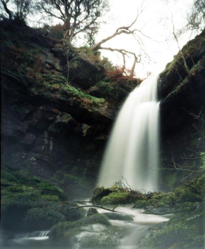 Lower (Big) Biglees waterfall pinhole 30Jan09