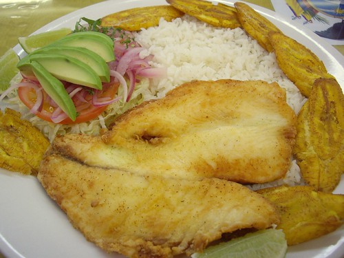 Fried Tilapia at Los Galapagos