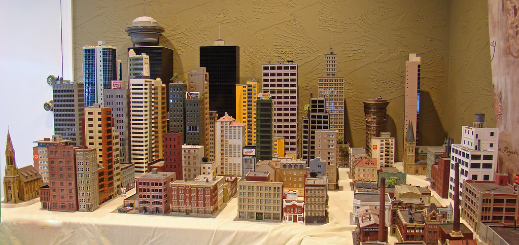 ho scale buildings and structures my n scale city progress and my models skyscrapercity