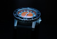 ORSA Sea Angler (Thor.Stone) Tags: quartz orsa orangedial diverswatch swissmovement seaangler