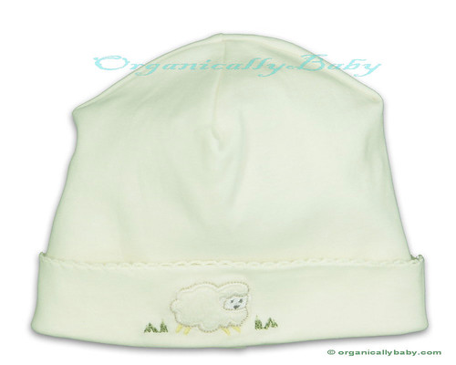 Organic Baby Hat: Organic Pima Cotton Baby Hat from Kissy Kissy
