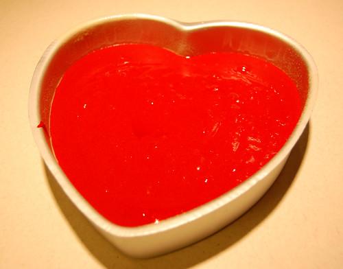 9 Heart Shaped Cake
