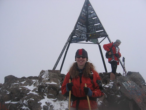 Clare Summit of Jbel Toubkal 13,671 ft