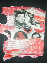 THE HONEYMOONERS (rawedge studio) Tags: art collage altered forsale dancing alteredart honeymooners