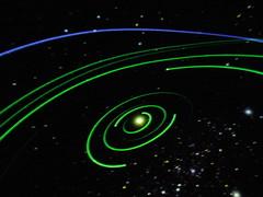 solar system paths